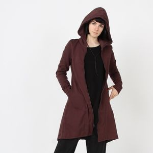 Hedgerow Hoodie in Plum